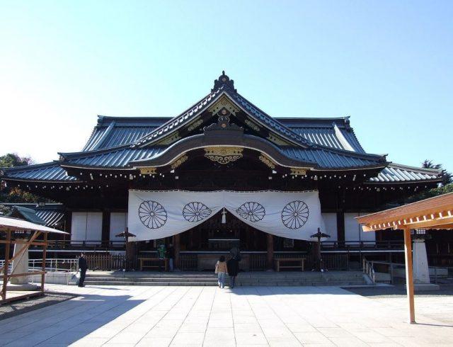 ▲靖国神社(写真:Wikipedia)