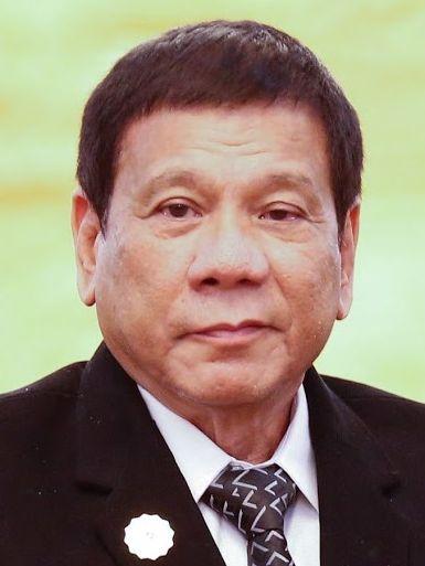 ▲ドゥテルテ大統領(WikimediaCommonsより)