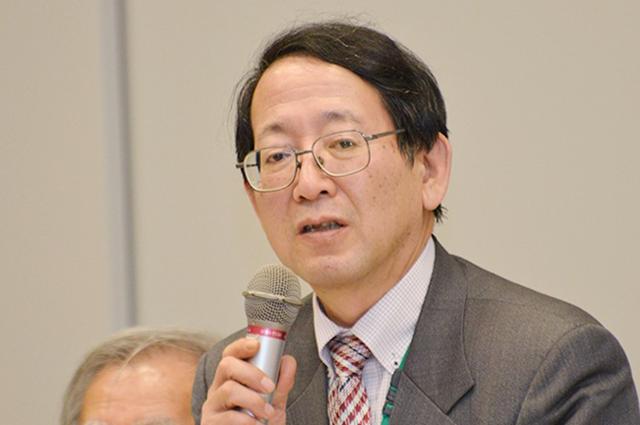 ▲「TPP交渉差止・違憲訴訟の会」弁護団共同代表・岩月浩二弁護士