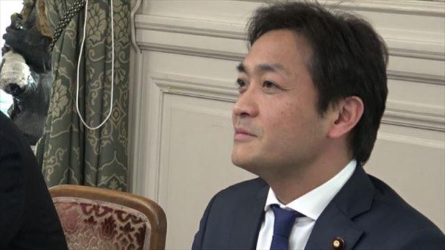 ▲民進党・玉木雄一郎幹事長代理
