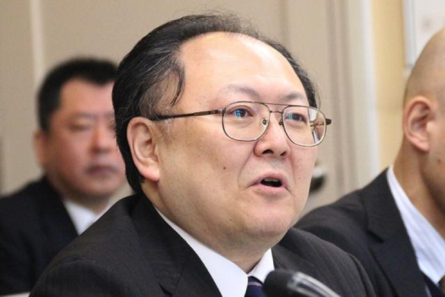 ▲法務省の加藤俊治氏