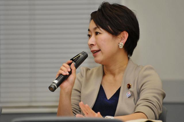 ▲民進党・山尾志桜里衆議院議員