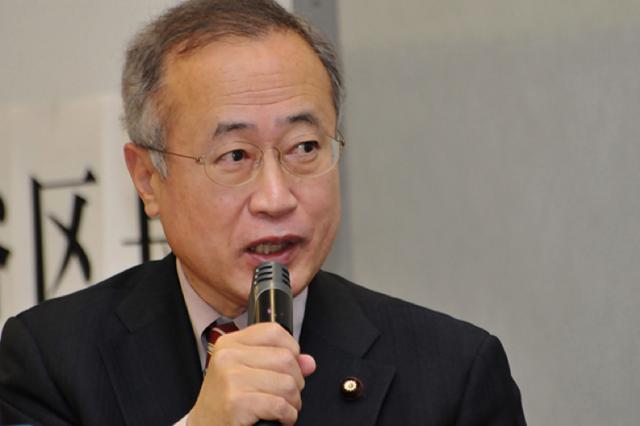 ▲民進党・有田芳生参議院議員