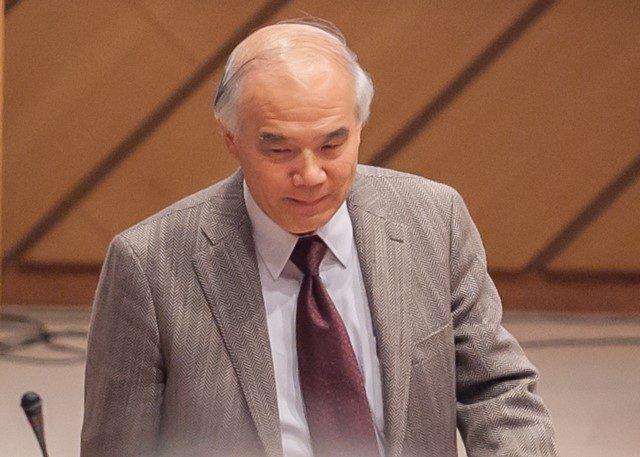 ▲日本学術会議会長であり豊橋技術科学大学を務める大西隆氏