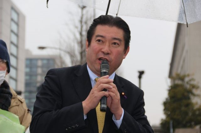 ▲民進党・福島伸享(のぶゆき)衆議院議員