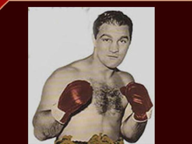 ▲ロッキー・マルシアノ選手(Rocky Marciano // Official Web Siteより)