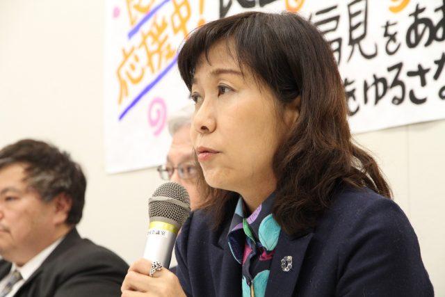 ▲元BPO放送倫理検証委員で精神科医の香山リカ氏