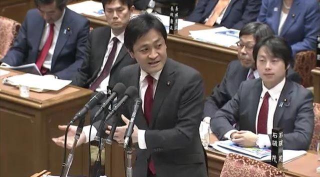 ▲民進党・玉木雄一郎議員(2月20日衆議院予算委員会)