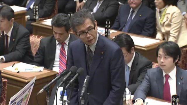 ▲日本共産党・宮本岳志議員